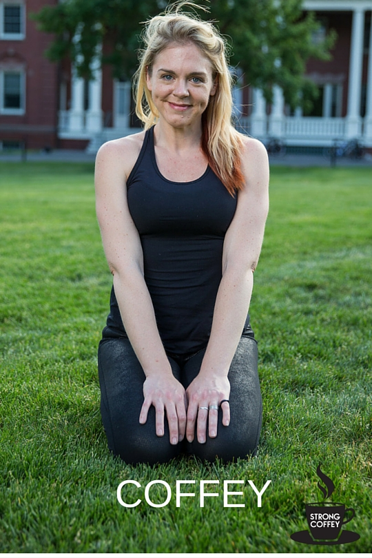 How I Learned To Do Yoga Perfectly Without Bending Over Backwards www.strongcoffey.com/2017 #yoga #healthyliving #fitness
