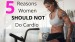 5 Reasons Women Should Not Do Cardio (1)