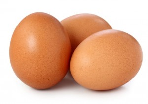 Brown eggs are sexier, but the white ones are cheaper and just as good.