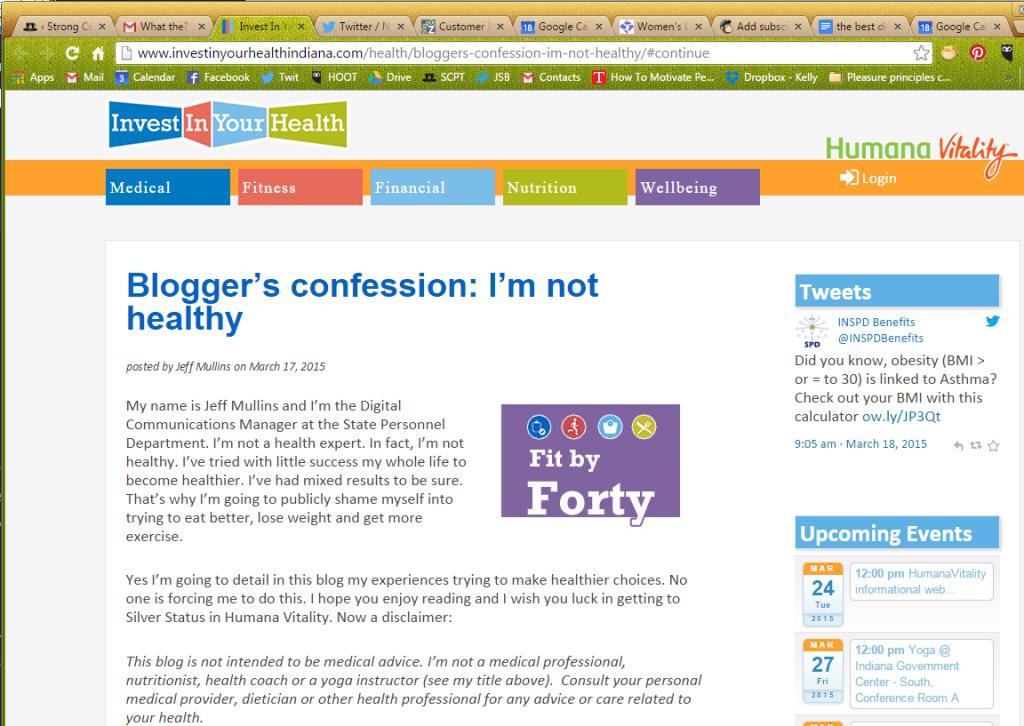Jessica Turner Strange Post Indiana Shame blogger